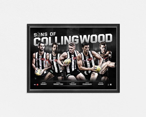 COLLINGWOOD MAGPIES 'SONS OF COLLINGWOOD'