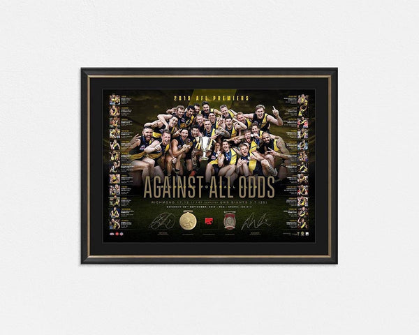 Richmond 2019 Premiers Dual Signed Lithograph