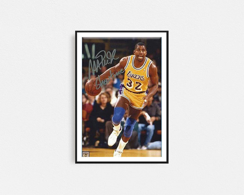 Magic Johnson Signed Print
