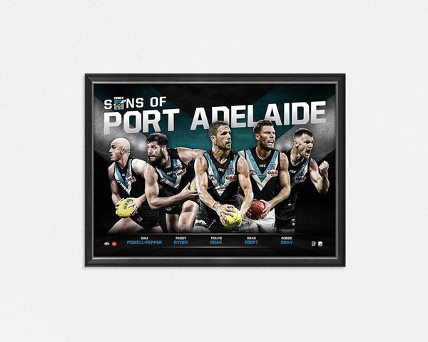 PORT ADELAIDE FOOTBALL CLUB 'SONS OF PORT ADELAIDE'