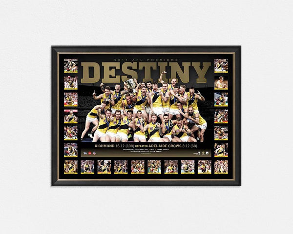 RICHMOND TIGERS – 2017 AFL GRAND FINAL PREMIERSHIP FRAMED SPORTSPRINT