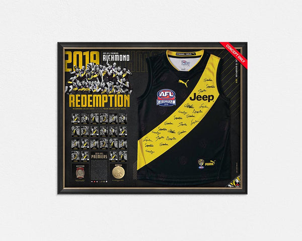 RICHMOND 2019 OFFICIAL TEAM SIGNED JERSEY