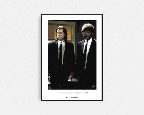 Pulp Fiction Movie Frame