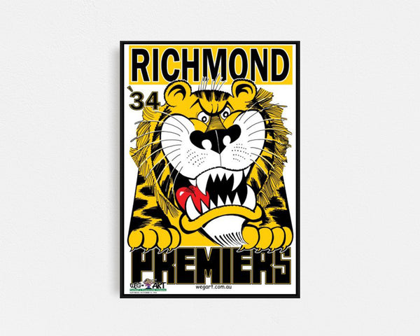 Richmond 1934 Premiership