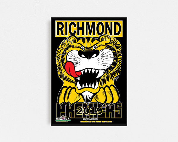 Richmond 2019 Premiership Black