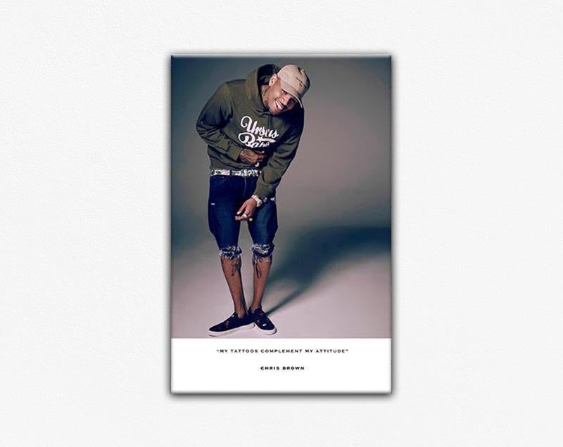 Chris Brown Second Edition Frame