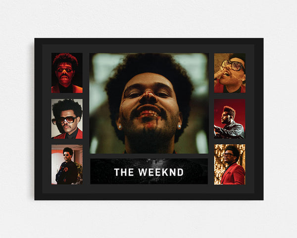 The Weeknd 'After Hours' - Tribute Frame
