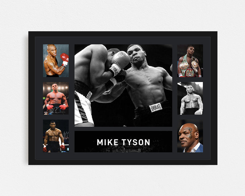 Mike Tyson - Tribute Frame