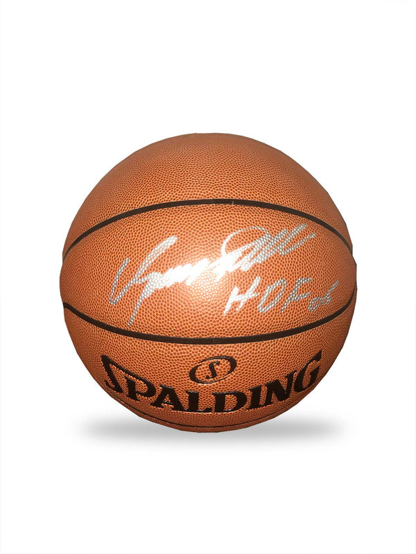 Dominique Wilkins Hand Signed Basketball