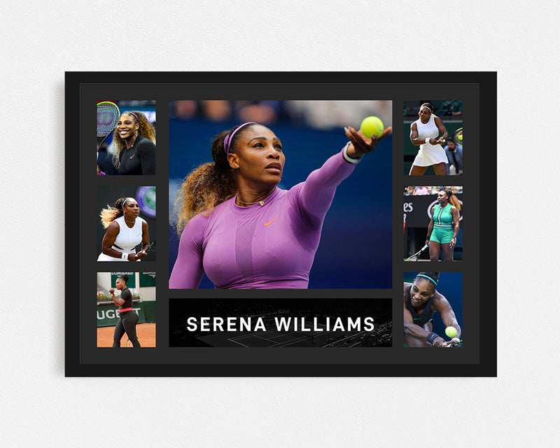 Serena Williams - Tribute Frame
