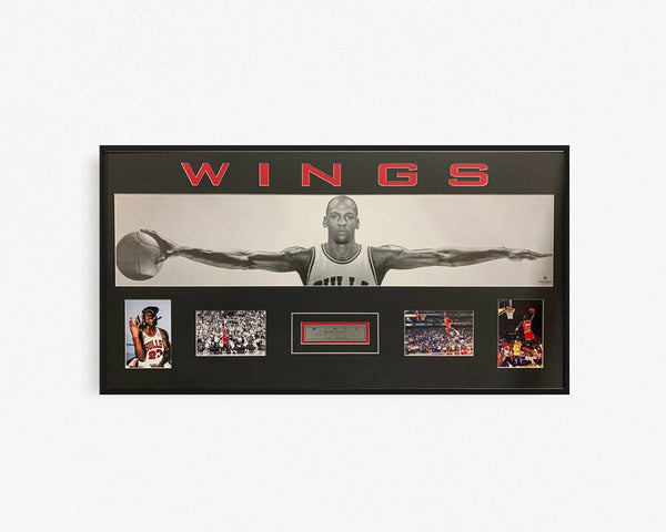 Michael Jordan Wings Collage