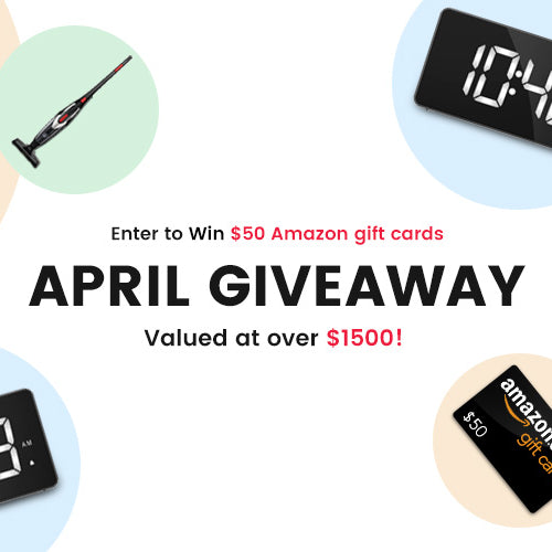 April Giveaway Winners