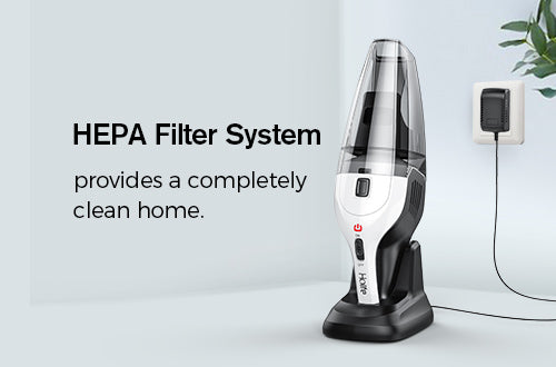 Hepa filter handheld vacuum holife