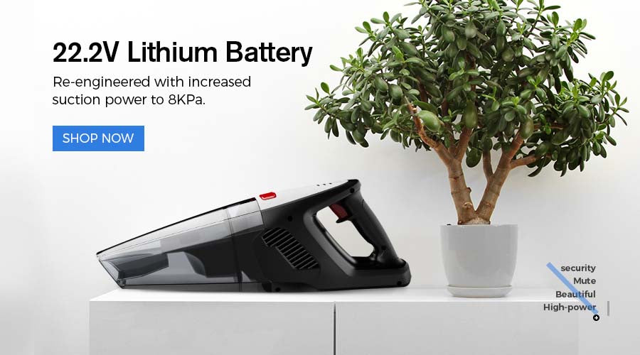 8000PA Suction handheld vacuum holife