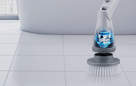 Homitt Electric Spin Scrubber High spin speed to 350 RPM