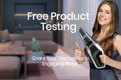 free product testing vacuum cleaner holife