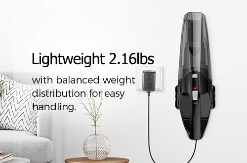 lightweight handheld vacuum holife HLHM208BB