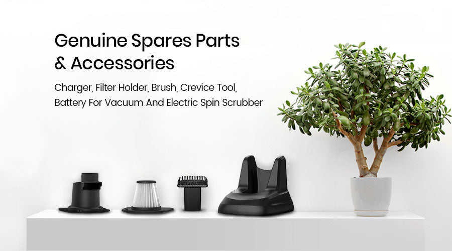 genuine spares parts and accessories for Holife vacuum cleaner and Homitt Electric Spin Scrubber