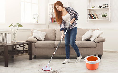 Big sales spin bucket mop save 35%