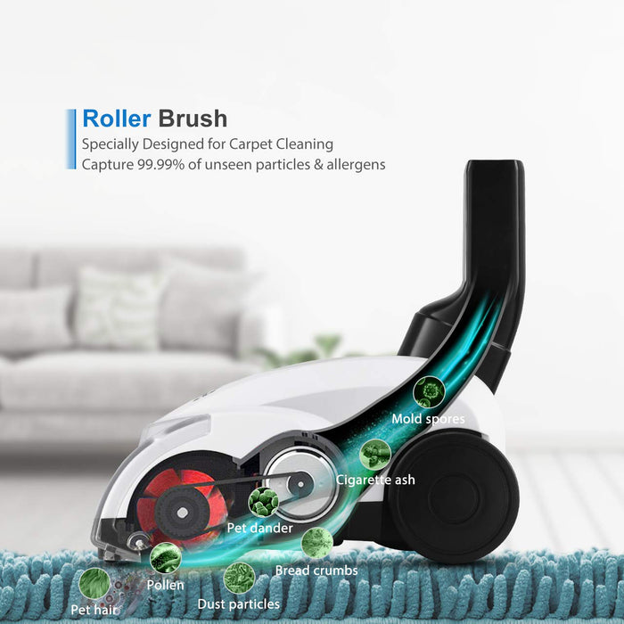 Roller Rrush of Holife HM408AW Stick Vacuum Cleaner