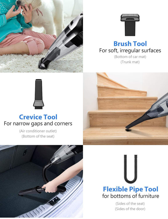 Flexible Pipe Tool,Brush Tool,Crevice Tool Fit for cleaning hard-to-reach narrow gaps and corners.
