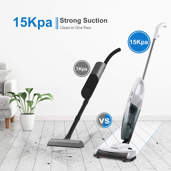15KPA Suction of Holife HM408AW Stick Vacuum