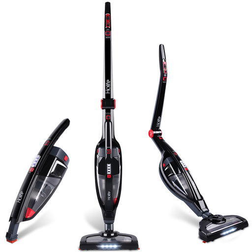 Holife Cordless Stick Vacuum Cleaner Foldable (Black)-HM259AB