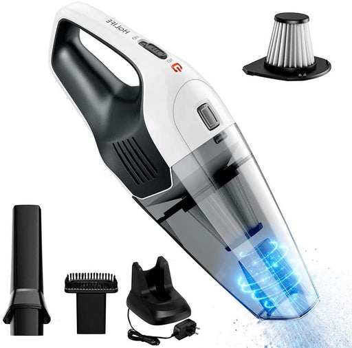 6000PA cyclonic suction, best amazon handheld vacuum, Rechargeable Quick Charge, Stainless Steel Filter, Holife