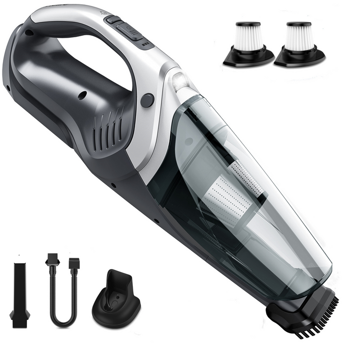 9Kpa Suction, Handheld Vacuum Cordless, HEPA Filters, Holife