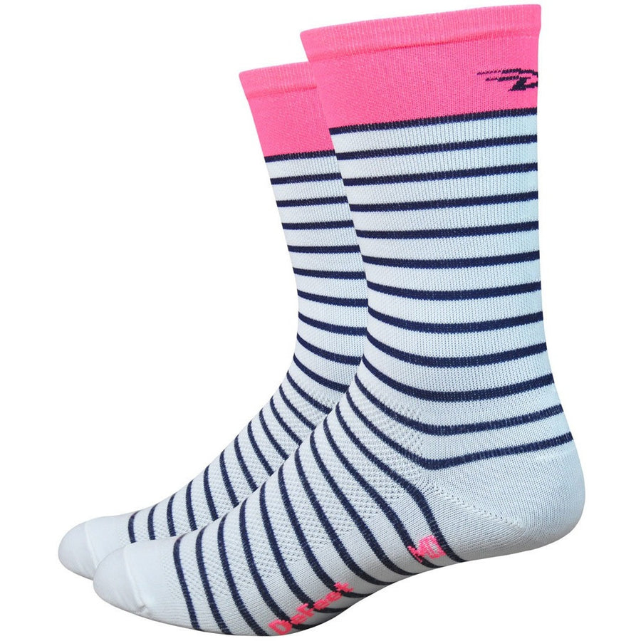"Aireator Womens 1"" Sailor (White/ Navy/ Flamingo Pink)"