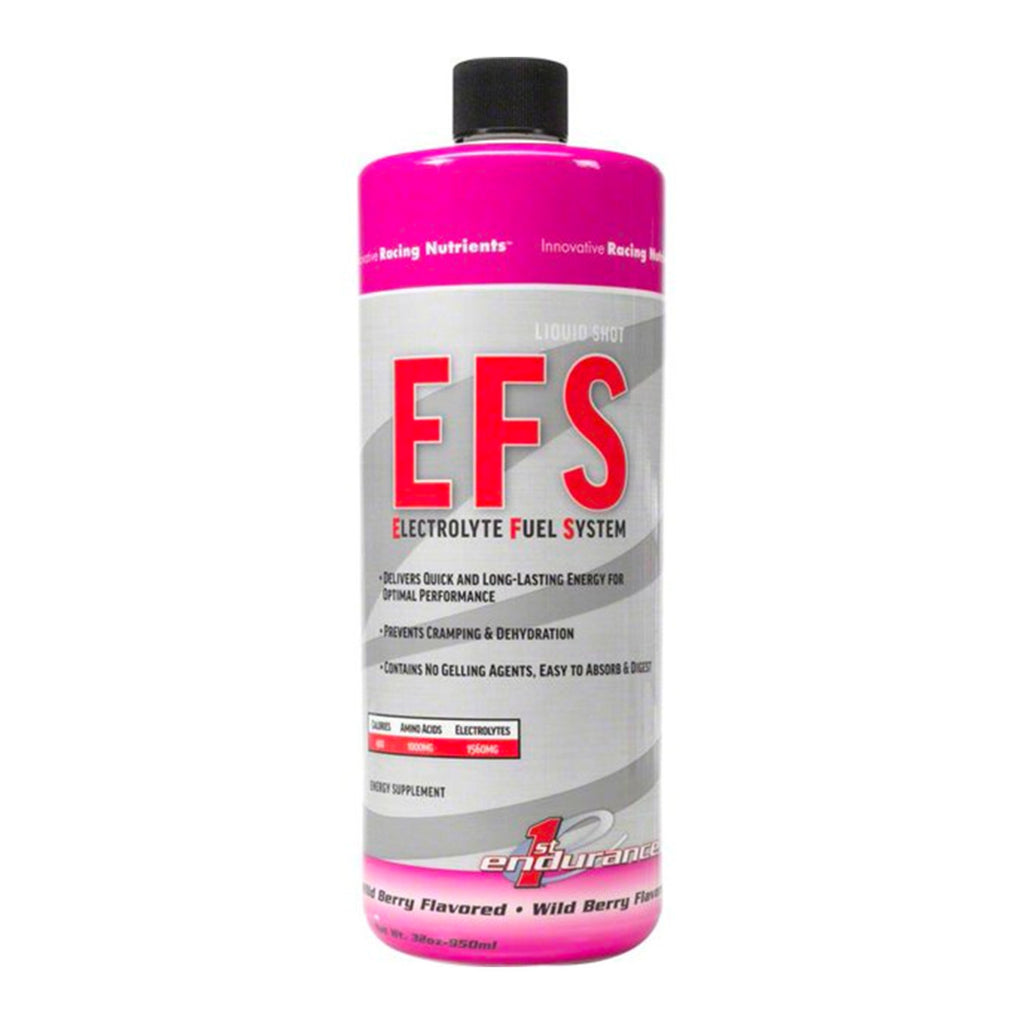 First Endurance EFS Liquid Shot Refill, Energy liquid, Wild berry, 32oz