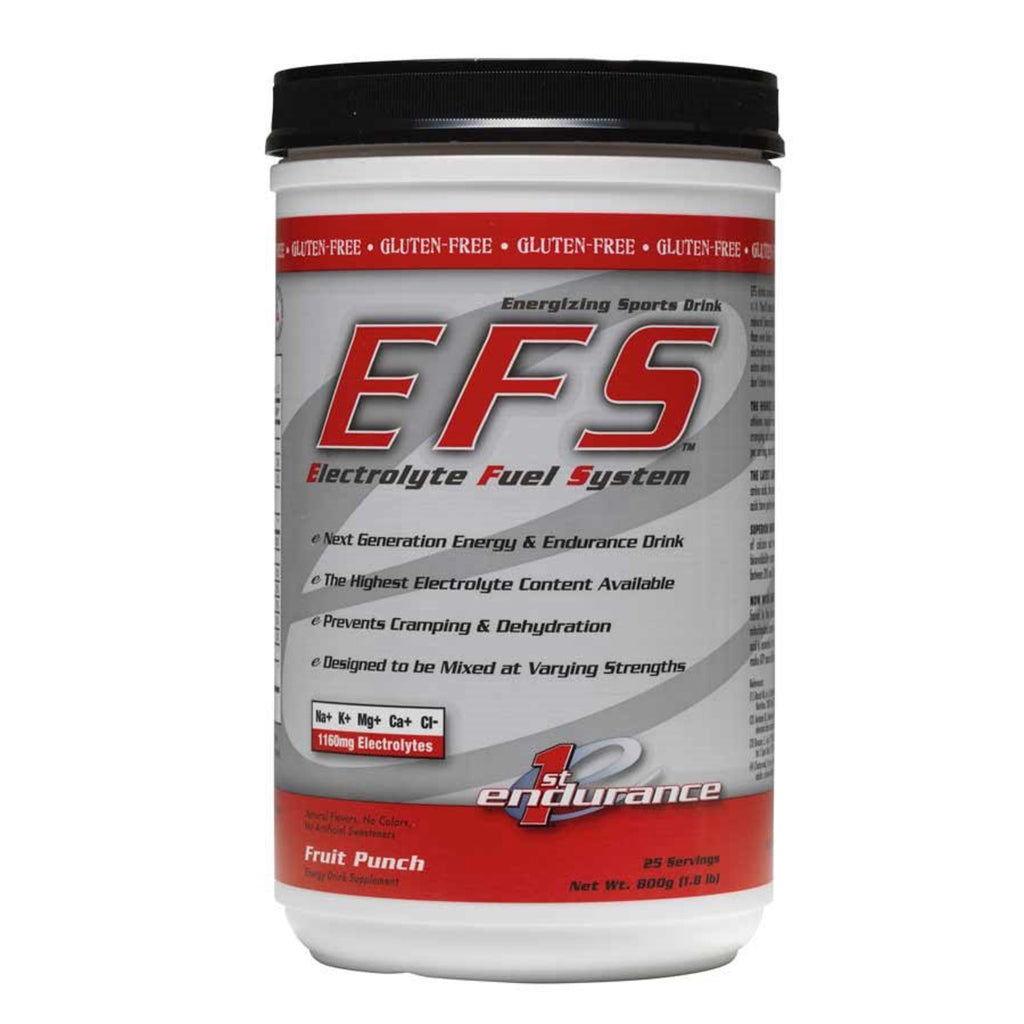 First Endurance EFS Drink Mix: Fruit Punch 25 Serving Canister
