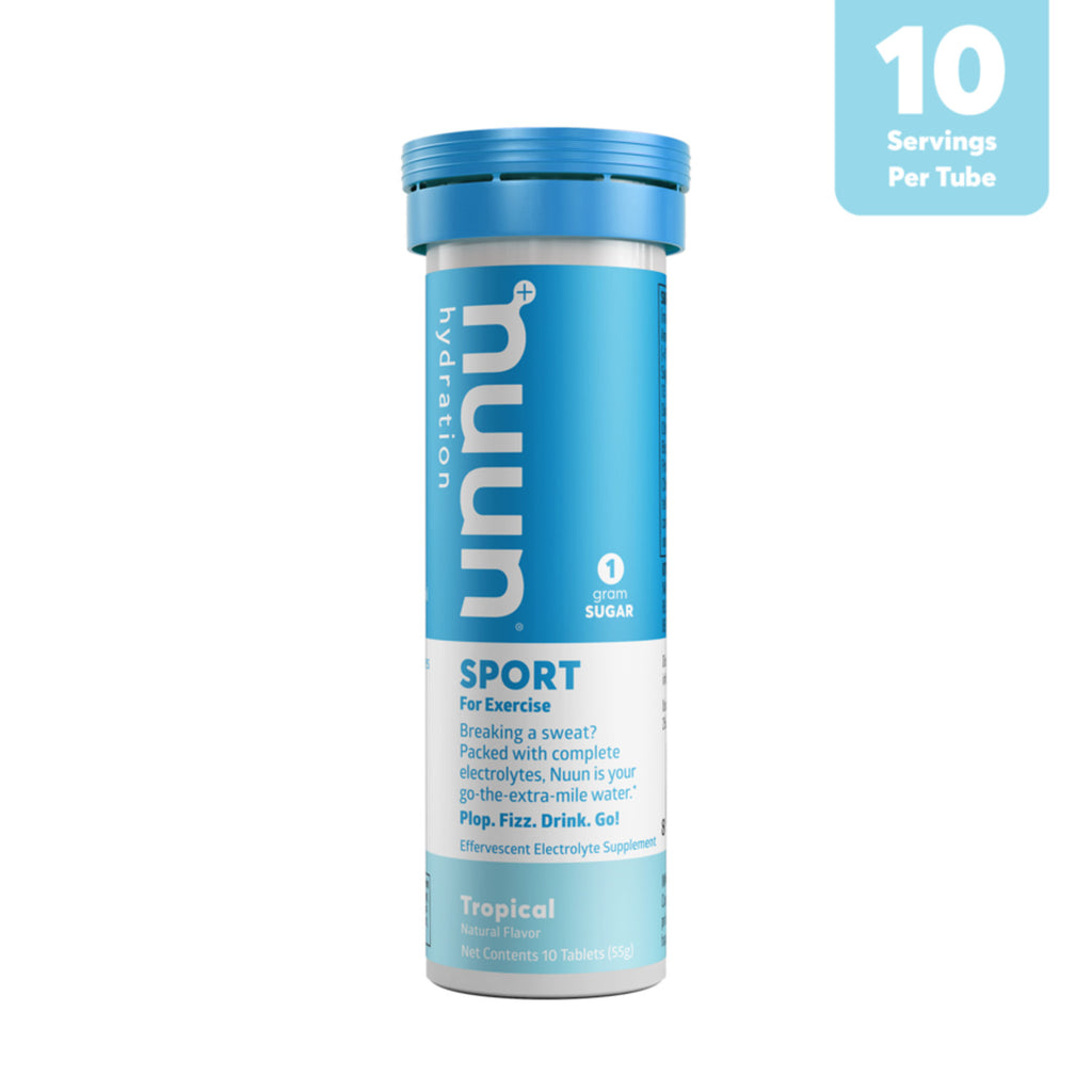 Nuun Hydration Electrolytes 10 Tablets, Tropical