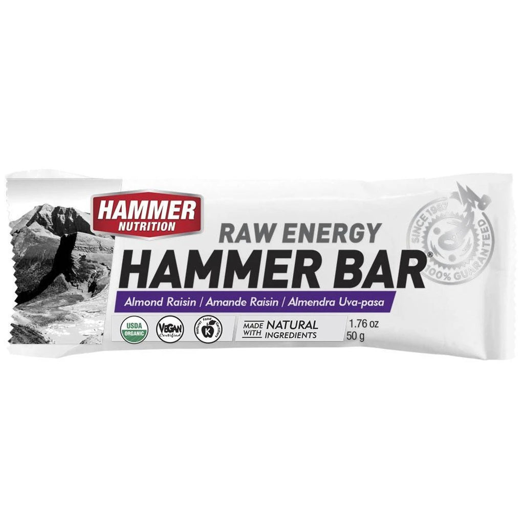 Hammer Nutrition Barra Raw Energy - Almond Raisin