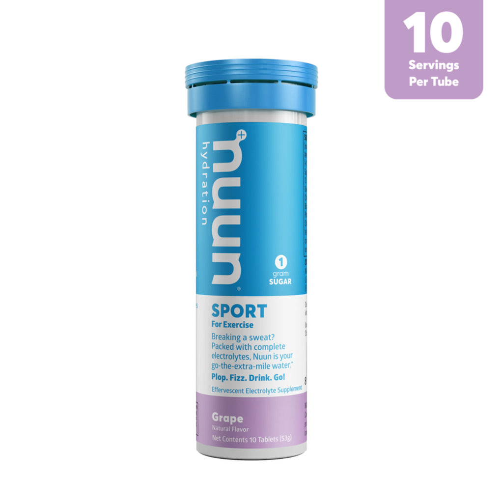 Nuun Hydration Sport 10 Tablets - Grape