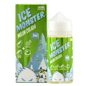 Jam Monster eJuice - Melon Colada Ice - ParadiseVapors.online