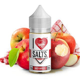 I Love Salts by Mad Hatter - Juicy Apples - ParadiseVapors.online