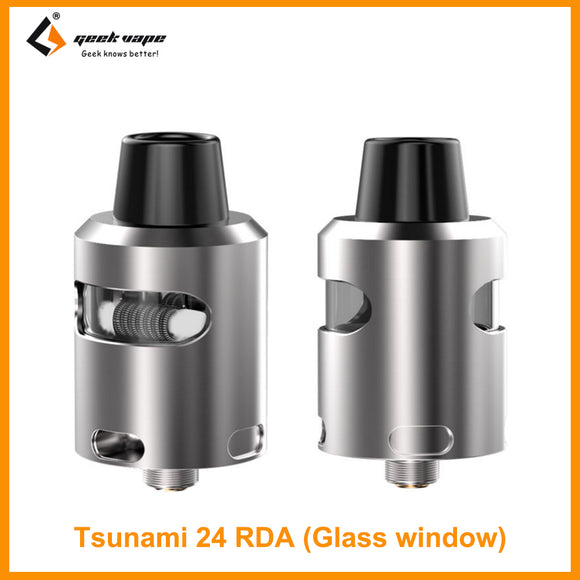 Geekvape Tsunami 24 RDA Glass Window Version - ParadiseVapors.online