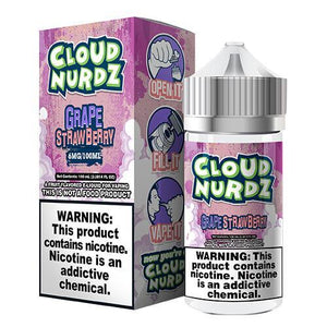Cloud Nurdz eJuice - Strawberry/Grape - ParadiseVapors.online
