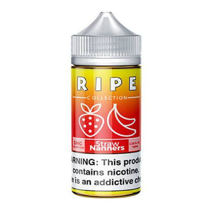 Ripe Collection by Vape 100 eJuice - Straw Nanners - ParadiseVapors.online