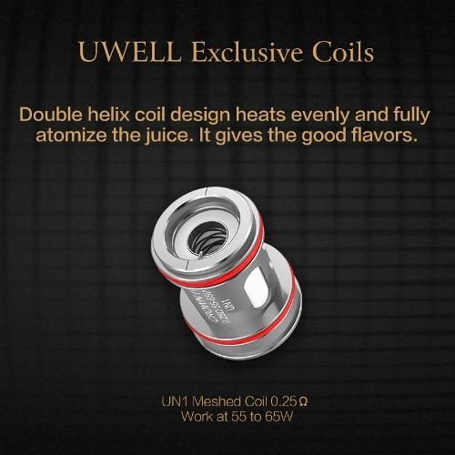 Uwell Crown 4 IV Coil - ParadiseVapors.online