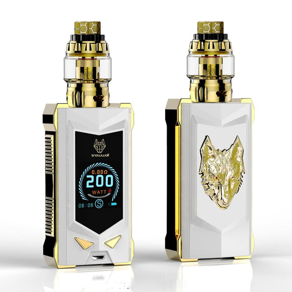 NEWEST electronic cigarette kit vape kit 100% original of sigelei snowwolf MFENG 200W SUPER POWER - ParadiseVapors.online