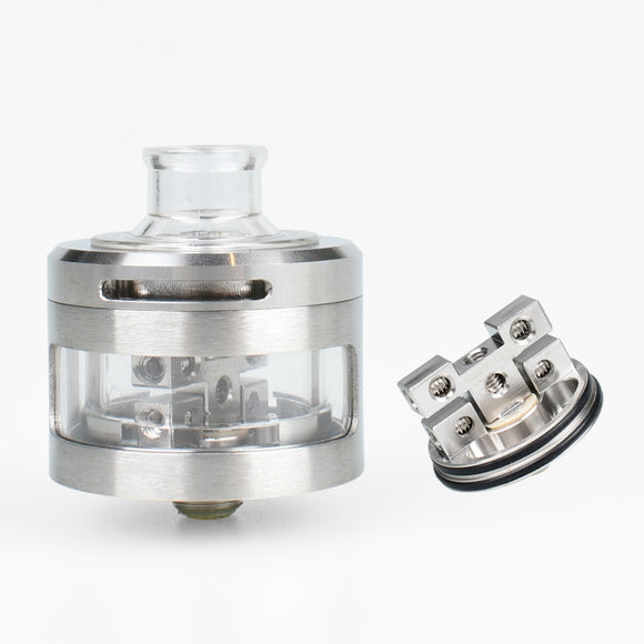 Original Inde Duo RDA Tank Supports Single/Dual/Four Coil Vape For electronic cigarette squonk box Mod Pk UD Goblin Mini RDTA - ParadiseVapors.online