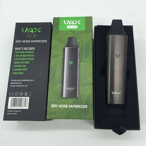 Original VAX Air Grass Vaporizer Starter Kit Temperature Control dry herb & wax cigarette Electronic kit with 3000mah Battery - ParadiseVapors.online