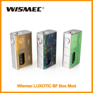 WISMEC LUXOTIC BF BOX MOD 100W with 7.5ml E-liquid Bottle Output 100W - ParadiseVapors.online