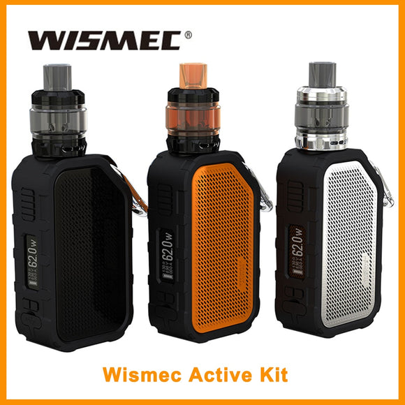 Wismec Active Kit With Amor NS Plus Tank Built in 2100mAh Battery Bluetooth Music/Waterproof - ParadiseVapors.online