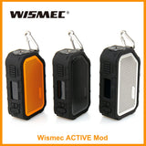Wismec Active Mod Built in 2100mAh Battery 80W Output Box Mod with Bluetooth Music Waterproof and Shockproof - ParadiseVapors.online