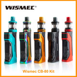 Wismec CB-80 Kit with AMOR NS Pro Tank 2ml Capacity Output 80W - ParadiseVapors.online