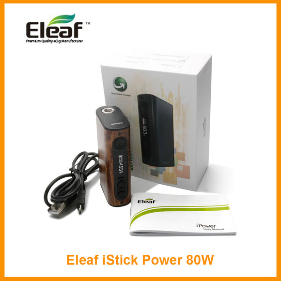 Eleaf iStick Power /iPower 80W TC Mod with 5000mAh Battery Output Mode Battery Mod ipower istick - ParadiseVapors.online