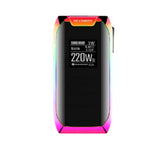 Original Vaporesso Revenger X 220W TC Box Mod Vaporizer Fit for NRG Tank 18650 Battery VS Vgod Voopoo Drag E-Cigarette Vape Mods - ParadiseVapors.online